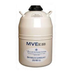 Behälter mit flüssigem Stickstoff