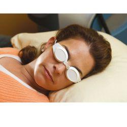 Schutzschalen für die Augen von Patienten - Wiederverwendbare, weiße Schalen, extrem leicht
