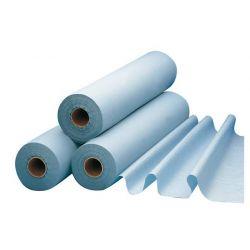 Abdecktuch für Untersuchungsliegen, kunststoffbeschichtet, blau 38x50cm