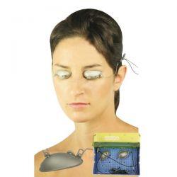 Härte IV - metallische Schalen für die Augen